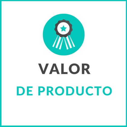 Estudio de Valor de Producto